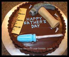 Μια καταπληκτική τούρτα για την ημέρα του πατέρα και οδηγίες βήμα-βήμα για να την φτιάξουμε!