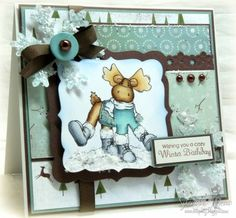 Dancing in Winter by suzannejdean - Cards and Paper Crafts at Splitcoaststampers