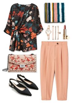 """""""Spring Look"""" by aneeqlondon on Polyvore featuring MANGO, Anne Klein and Modest"""