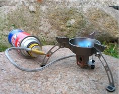 High Quality Windproof Outdoor Camping Cooker Picnic Cookout Hiking Equipment Gas Burner
