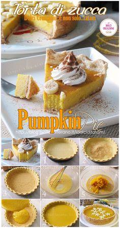 La Pumpkin Pie o Torta di #zucca è la #torta tipica del Nord America, che si prepara per il #Thanksgiving Day o il giorno del ringraziamento e per la festa di #Halloween o di Ognisanti.   #HL2019 #dessert #pumpkinpie #zucca #pumpkin #ricettehalloween #dolce #baking #food #recipe #ricetta #halloweenrecipefood #halloweenrecipecake #giallozafferano #scheletrinell'armadio Pumpkin Dessert, Pie Dessert, Amigurumi For Beginners, Halloween, Food And Drink, Breakfast, Cake, Foodie, Desserts