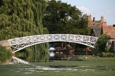 Godmanchester Chinese Bridge- I walked across this every day
