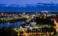 Helsinki at Night by Edvin Pohto on 500px