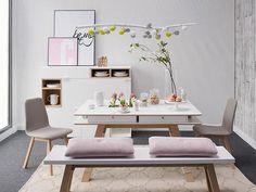 Una mesa, tres estilos preview