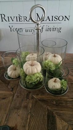 Rivera Maison, Fall Decor, Winter Decorations, Decorating On A Budget, Fall Pumpkins, Diy And Crafts, Autumn, Bouquets, Kitchen Island