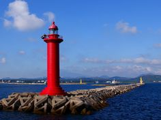 Seongsanpo North Breakwater Light