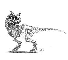 1,611 vind-ik-leuks, 12 reacties - Shaun Keenan (@shaunmichaelkeenan) op Instagram: 'Carnotaurus skeleton yo. #inktober #carnotaurus #draw #skeleton #artistoninstagram #ink #drawing…'