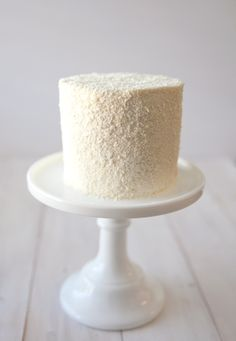 Just in time for Valentine's day is our new white velvet cake. Rich Madagascar vanilla bean is deeply infused into a tender and fine crumbed white cake. It is then filled and frosted with our signa...