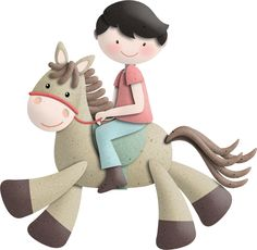 """Photo from album """"Saddle Up"""" on Yandex. Christmas Clipart, Christmas Ornaments, Rodeo Girls, Happy Images, Horse Party, Clip Art, Cute Clipart, Kids Birthday Cards, Western Theme"""