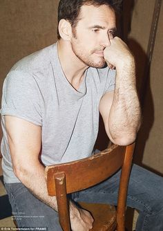 Regular guy: There's Something About Mary star Matt Dillon is the star of FRAME Denim's de...
