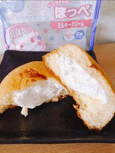 【子供も大好きなケーキ♡】FUJIYA(不二家)の「ペコちゃんのほっぺ ミルキークリーム」