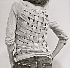 Adorei a blusa, tramas fechadas, blusa cumpridinha....