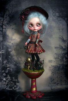 Cookie dolls: Gwendoline & Cecil ~ The paper garden ~