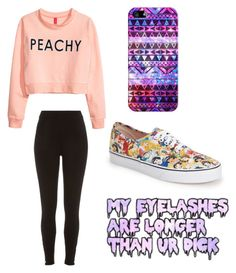 Untitled #194 by sshedenah on Polyvore featuring polyvore, fashion, style, H&M, River Island, Vans and Casetify