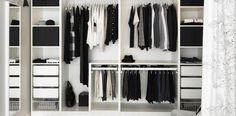 almacenaje, interior armario. La Escuela de Decoración de IKEA