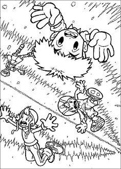Digimon Tegninger til Farvelægning. Printbare Farvelægning for børn. Tegninger til udskriv og farve nº 22