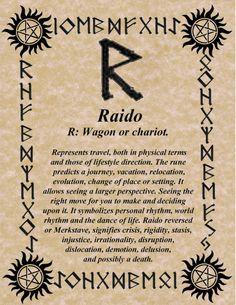 RAIDO the wagon rune