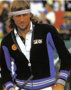 Bjorn Borg...it took many decades before anyone could touch his records.