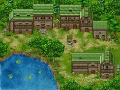 Forest 2 RPG Maker Parallax Practice by Sillouete