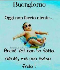 Italian Greetings, Italian Memes, Good Morning Quotes, Funny Moments, Funny Photos, I Laughed, Funny Jokes, Haha, Love Quotes