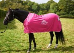 Pink Polar Fleece Cooler Rug With Silver Trim Kpequestrian Rudyard Kipling Cute Horses