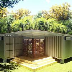 Container Houses PTY #architecture #containerhouse #containerhome #containers #wildvegetation #panama #design #3dmodels #rendering #render #lumion #lumionagram