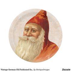 Vintage German Old Fashioned Santa Claus Christmas