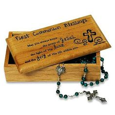 A special keepsake for First Communion.