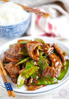 If you're short on time and want a flavorful Chinese meal at home, this 25-minute beef and snow pea stir fry recipe is for you!