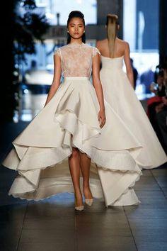wedding dress #bride #fashion