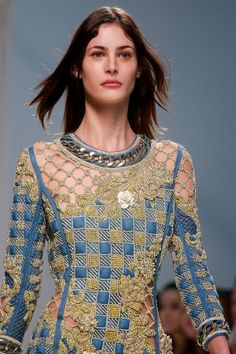 Balmain Spring 2014 Ready-to-Wear Collection Slideshow on Style.com