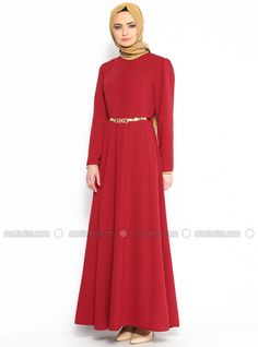 Arched Dresses - Red - N.K. Collection