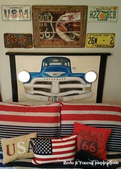 Hometalk | Truck Headboard