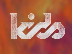 KIDS #logo #typography #branding