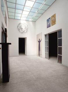 Carrelage Emil Ceramica (italien) Collection On Square Cemento Lappato (aspect béton brillant)