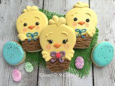 Fat Chick in a Little Nest ~ Cloughd9Cookies.com