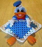 Ravelry: Duck Loveys pattern by Knotty Hooker Designs