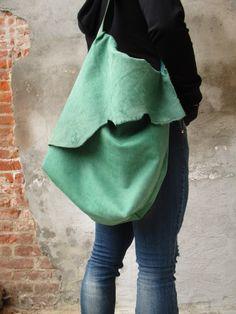 borsa handmade di pelle!!