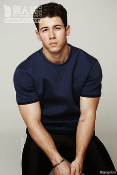 CoverStar: Nick Jonas for FOR HIM MAGAZINE Collection SS15 Issue