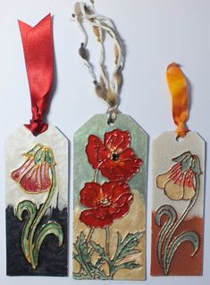 Designs on Craft: Tag Bookmarks