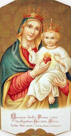 Unsere liebe Frau vom heiligsten Herzen Jesu by dietherpetter, via Flickr