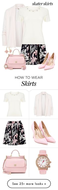 """""""Skater Skirts"""" by alina-n on Polyvore featuring Ted Baker, Precis Petite, Sophia Webster, Dolce&Gabbana, Betsey Johnson and skaterskirt"""
