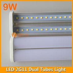 4pins dual 2G11 LED tube light
