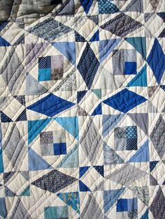 One Hundred Quilts// Storm at Sea pattern