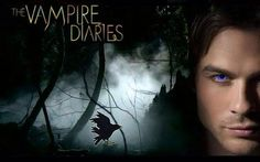 """The TV show """"The Vampire Diaries"""" based on the book series written by L.J Smith. This is a whole supernatural drama television series by Kevin Williamson and Julie Plec. Vampire Diaries Damon, Vampire Diaries Wallpaper, Vampire Dairies, Vampire Diaries The Originals, Movies Showing, Movies And Tv Shows, Damon And Stefan Salvatore, Original Vampire, Mystic Falls"""