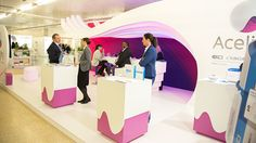 Acelity at Wounds UK, Harrogate #exhibitonstanddesign #LED #graphics #medical www.thisisenvisage.com/ Envisage Brand Experiences - Design, Build, Manager and Deliver Exhibition stands and immersive brand environments #exhibition #stand #design #marketing #experience