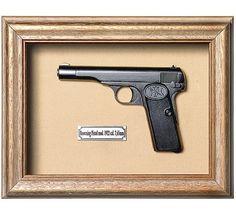 Quadro  Réplica de Arma Browning 7,65