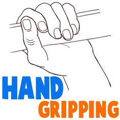 How to Draw a Hand Gripping Something with Easy to Follow Steps