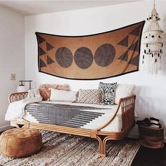 I'm daydreaming of a weekend getaway at this bohemian ranch-style house in the desert. @echoranchhouse I love your desert bohemian meets modern vintage kind of vibe!! That's why you are this week's #currentdesignsituation.  Keep tagging your beautiful spaces. @colby_tice @bohobylauren @homegirlcollection @ball_and_claw_vintage and I might select you next!