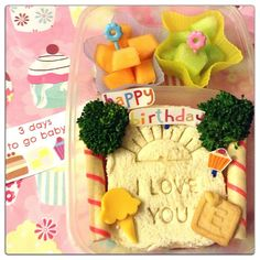 Birthday bento for Eanne :)